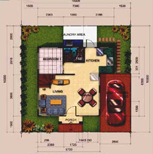 Alexandria Ground Floor Plan