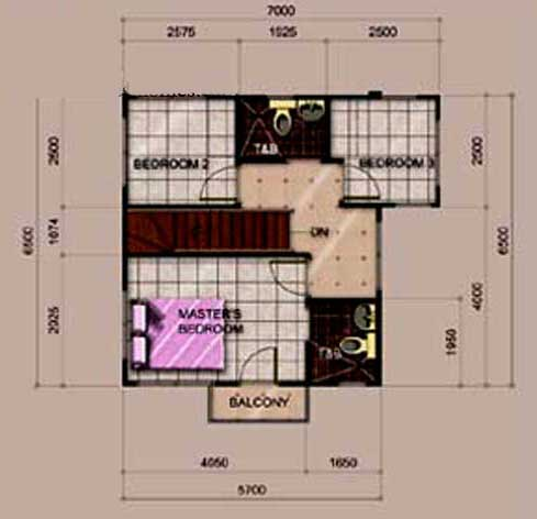 Alexandria 2nd Floor Plan