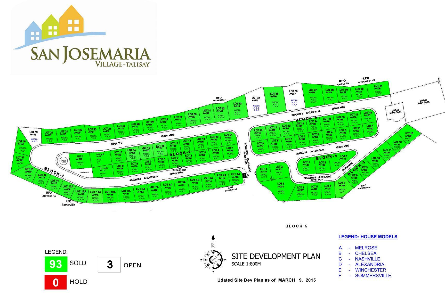 Site Devt Plan March 2015