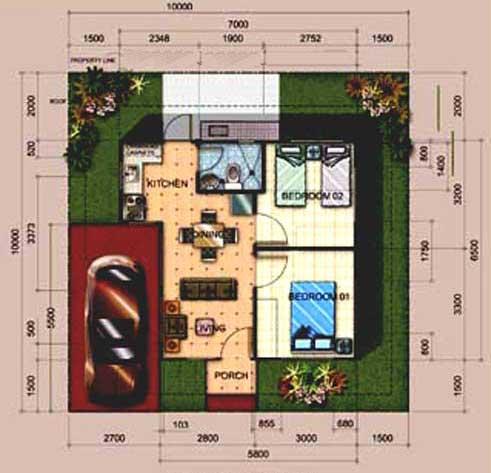Chelsea Model Floor Plan