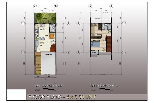 Floor Plan 4x5.5 Units