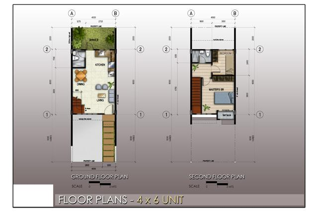 Floor Plan 4x6 Unit
