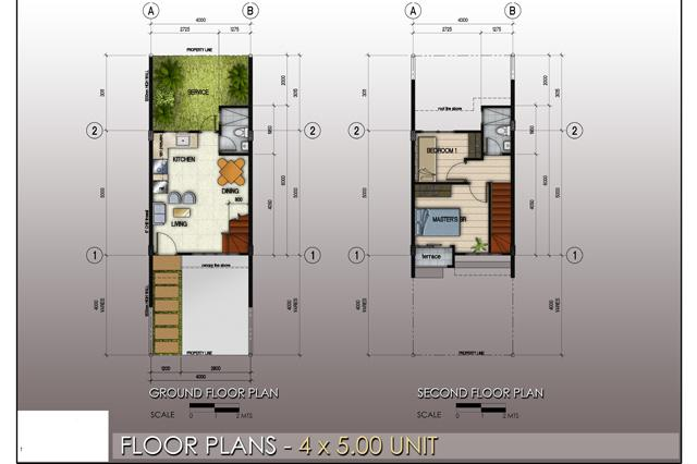 Floor Plan 4x5 Unit