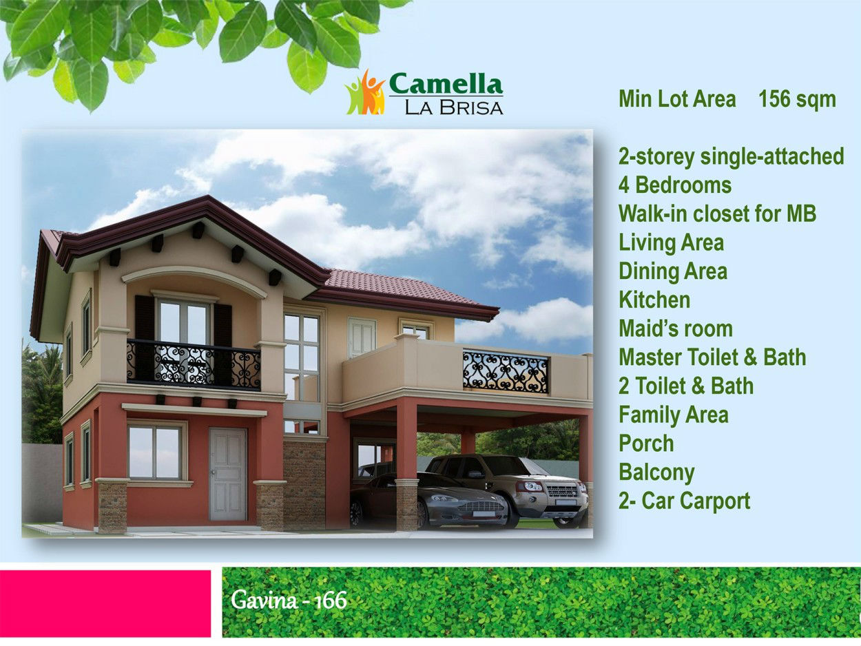 LA BRISA IN CAMELLA LAPU-LAPU CITY House FOR SALE: