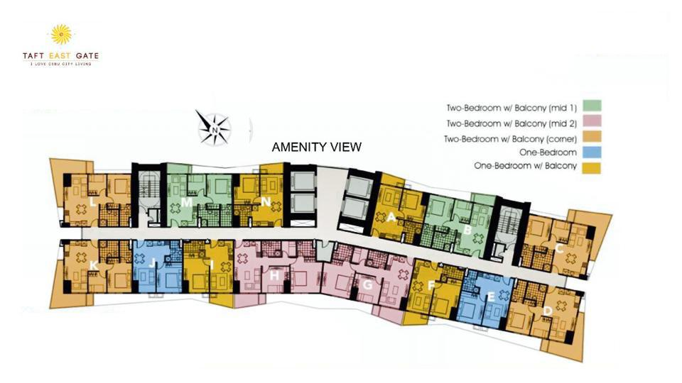 Typical Floor Plan Amenity View