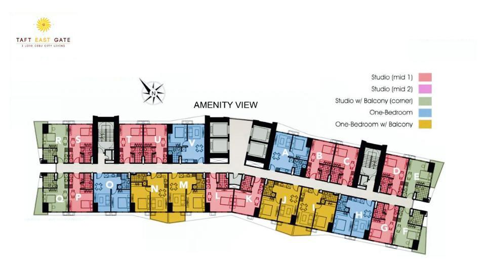 Typical Floor Plan Amenity View 2