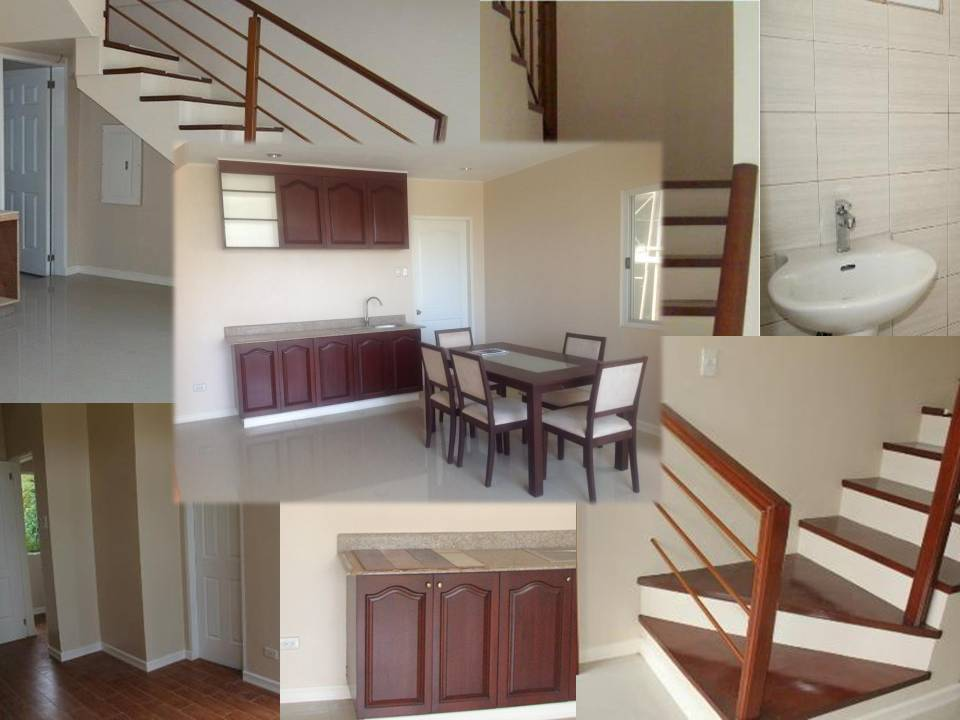 HERA`s FEATURES: FLOOR AREA: 120 sq.m. LOT AREA: 90-100 sq.m. 3 BEDROOMS					 3 TOILET AND BATH				 BALCONY AND GARAGE