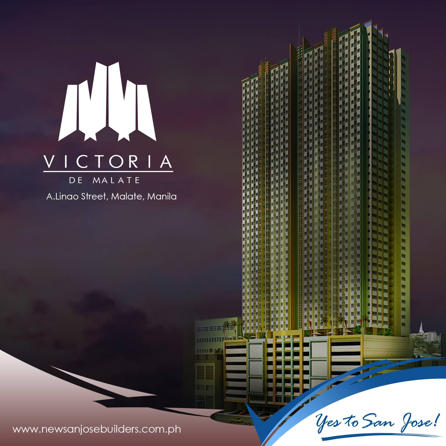 Victoria de Morato located at Sct.Borromeo, Quezon City.