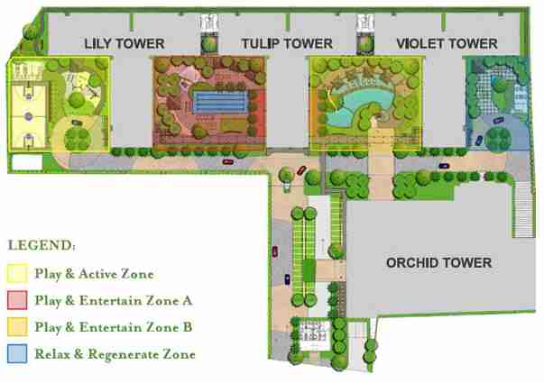Grace residences site plan