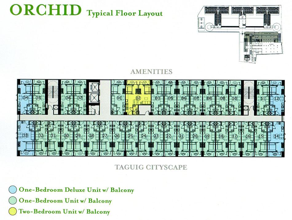 Grace Orchid floor plan