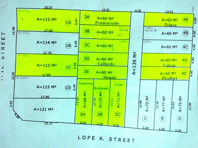 site lot plan