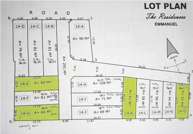 site lot plan