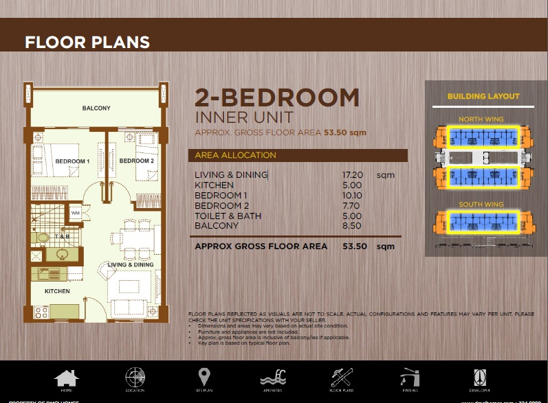 2bedroom inner unit