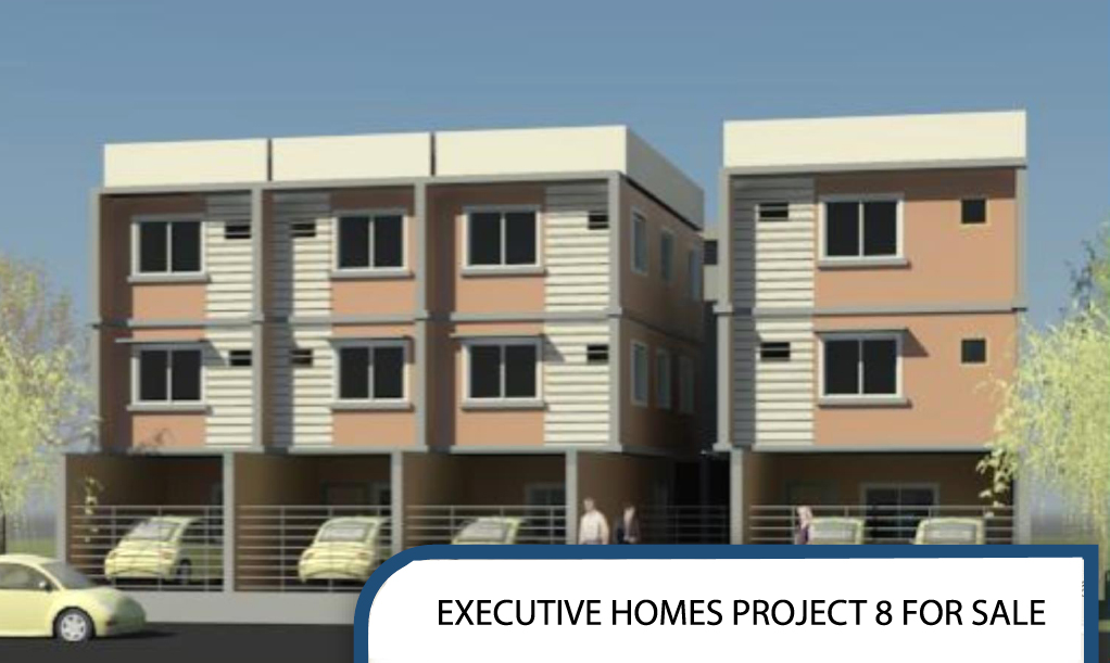 Townhouse in Project 8 Quezon City near Mindanao Avenue A. Linao Executive Homes
