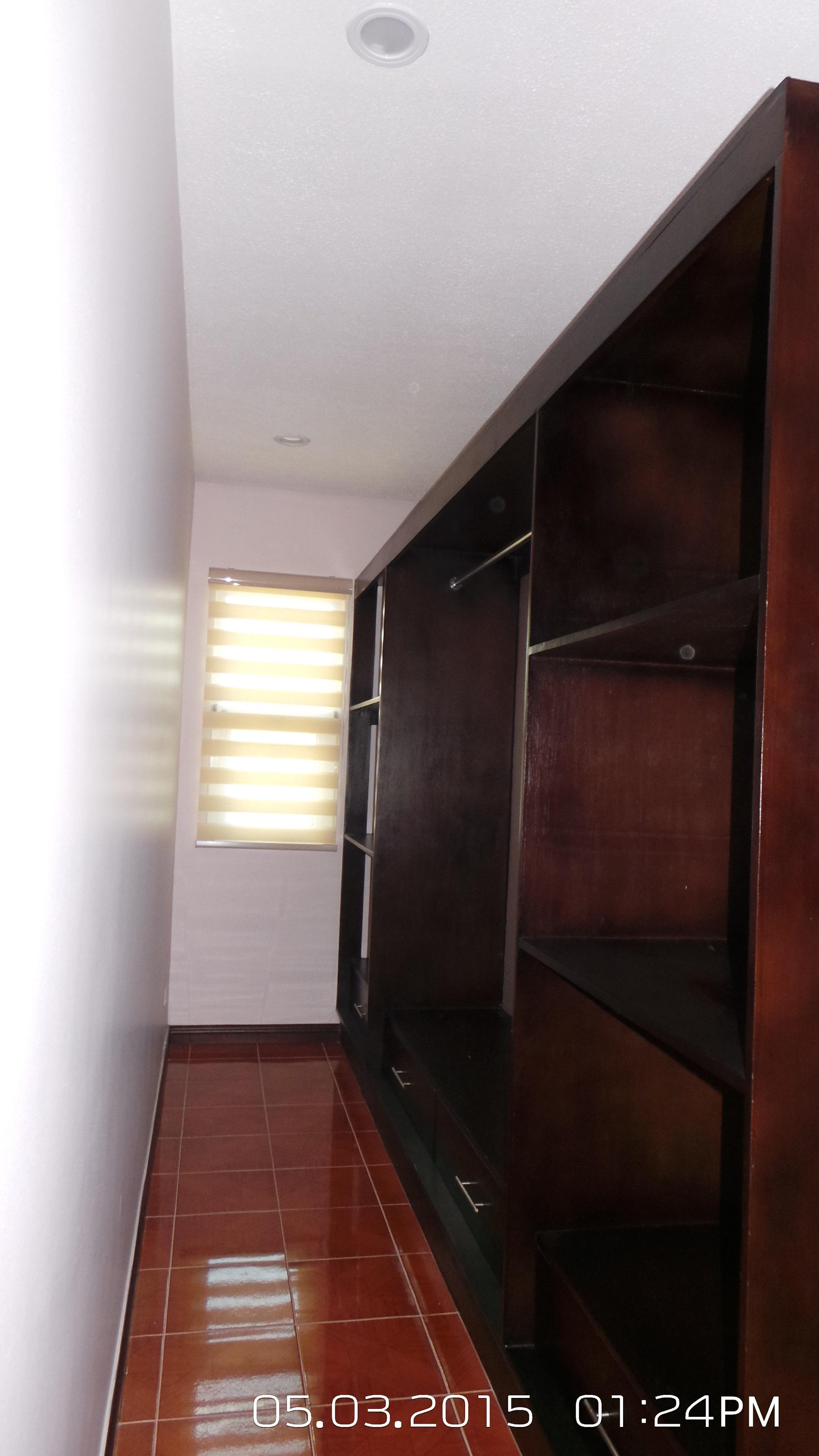 Master's Bedroom Walk-In Closet