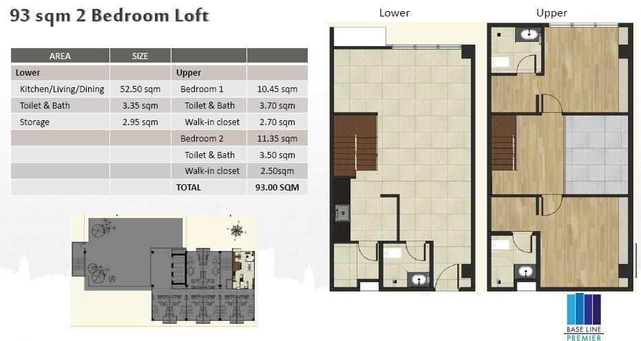 2BR Loft
