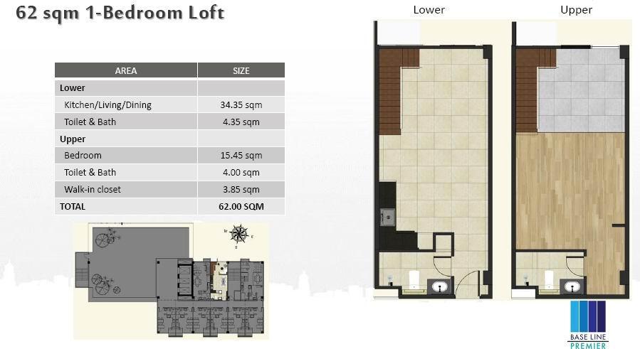 1BR Loft