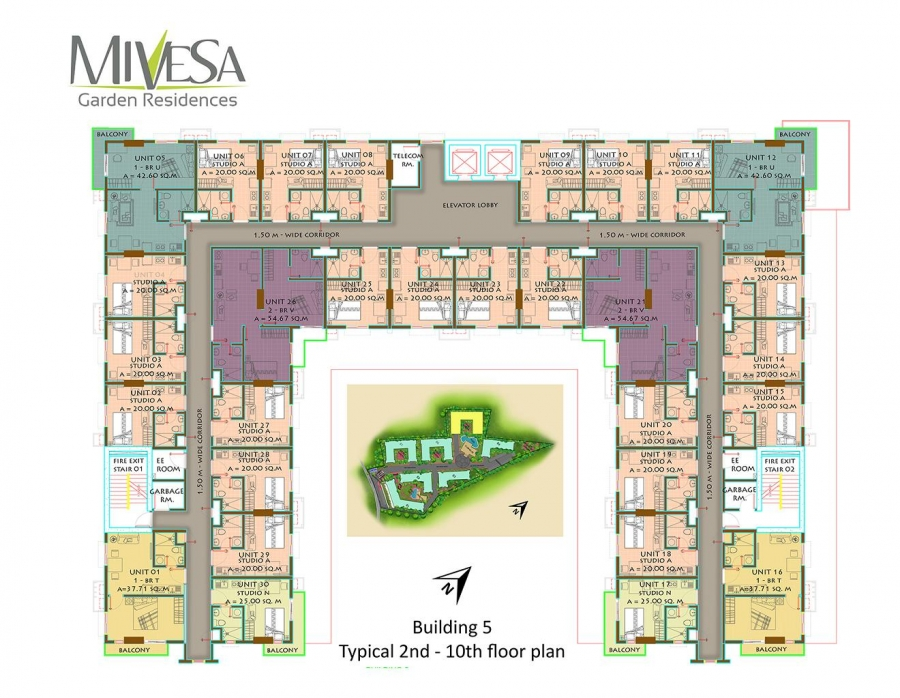 Building 5 Floor Plan