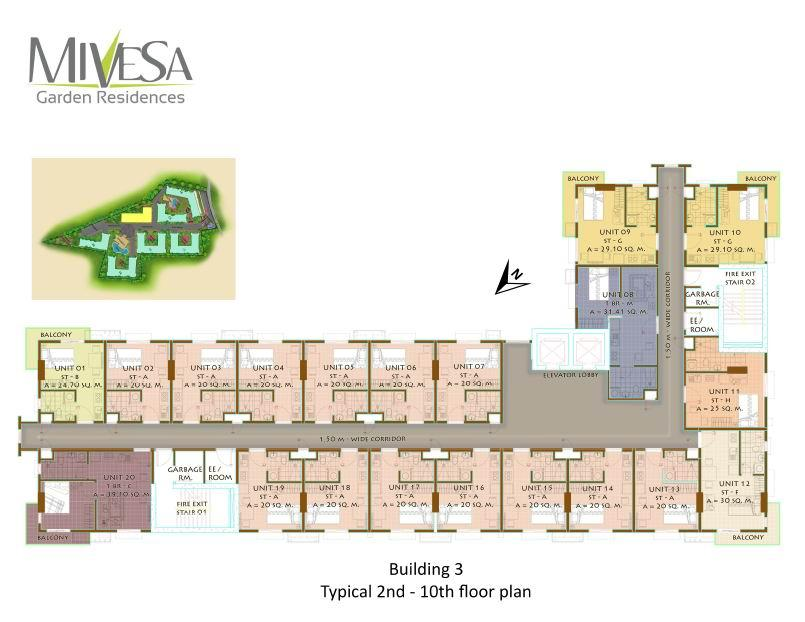 Building 3 Floor Plan