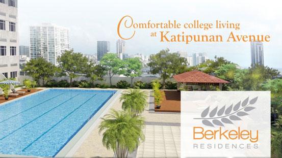 1BR Berkeley Residences Katipunan Avenue QC