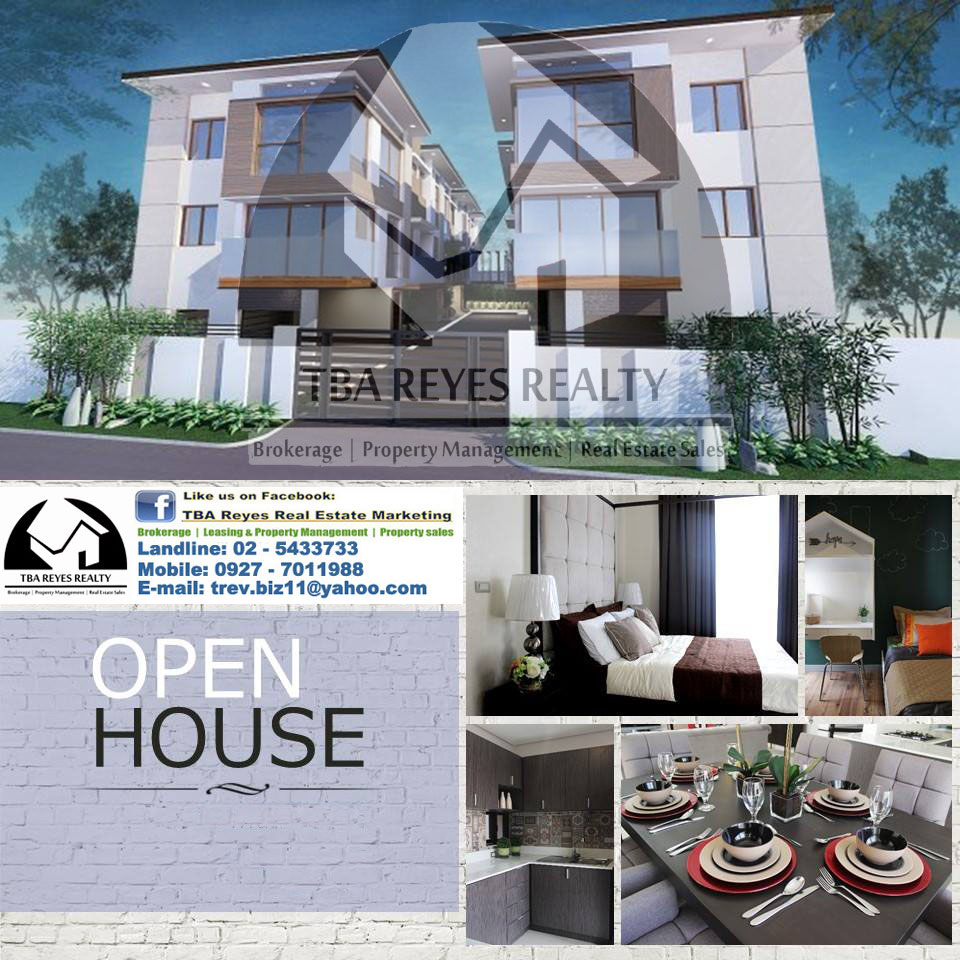New House and Lot / Townhouse in Diliman Quezon City