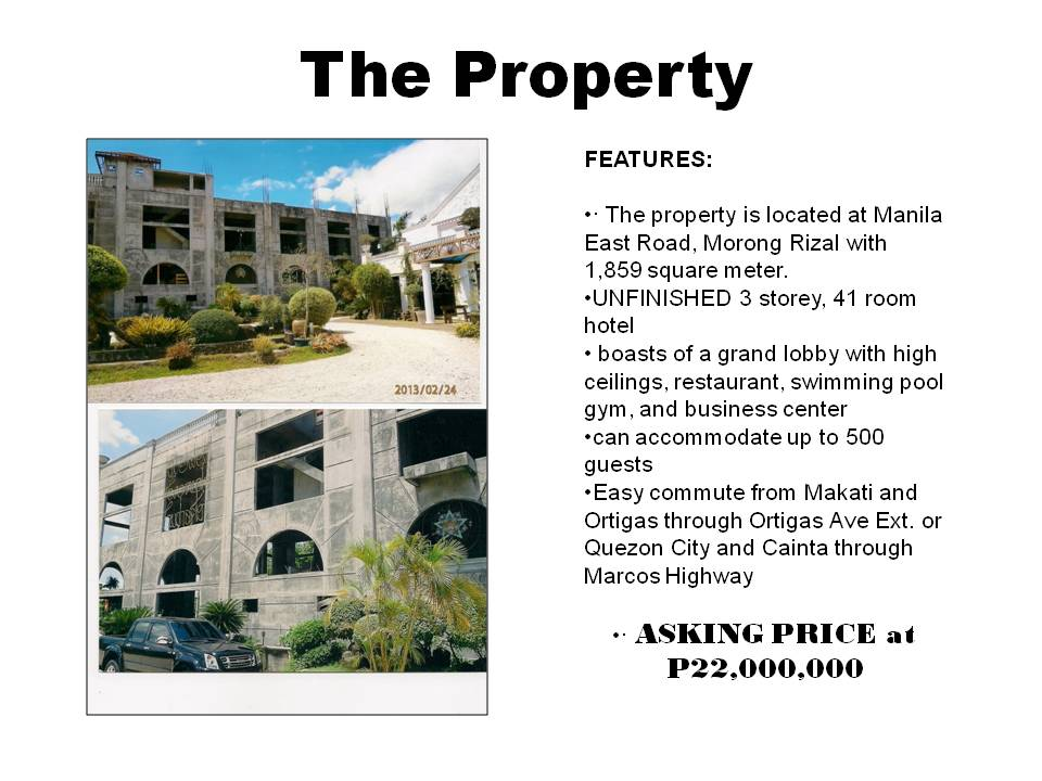 FOR SALE: Office / Commercial / Industrial Rizal > Other areas