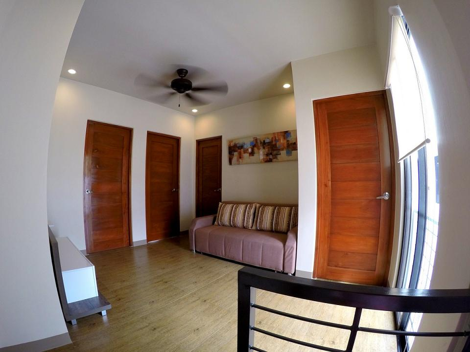 Masters Bedroom form to Living (Close All Rooms Door)