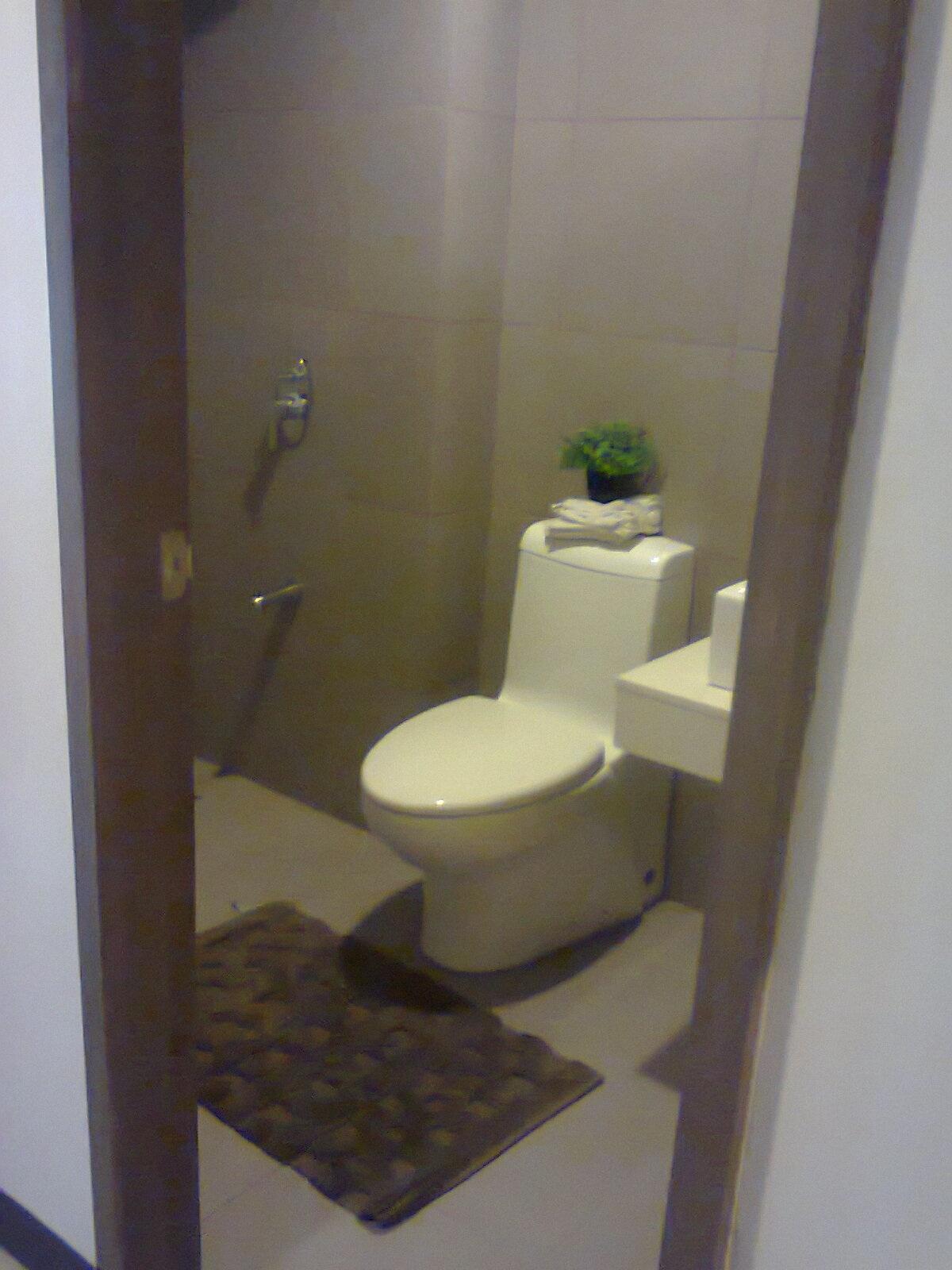 toilet and bath