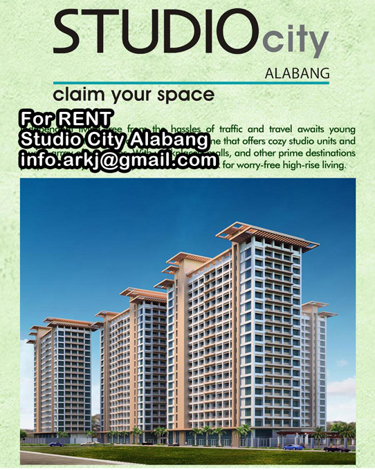 FOR RENT / LEASE: Apartment / Condo / Townhouse Manila Metropolitan Area > Alabang 5