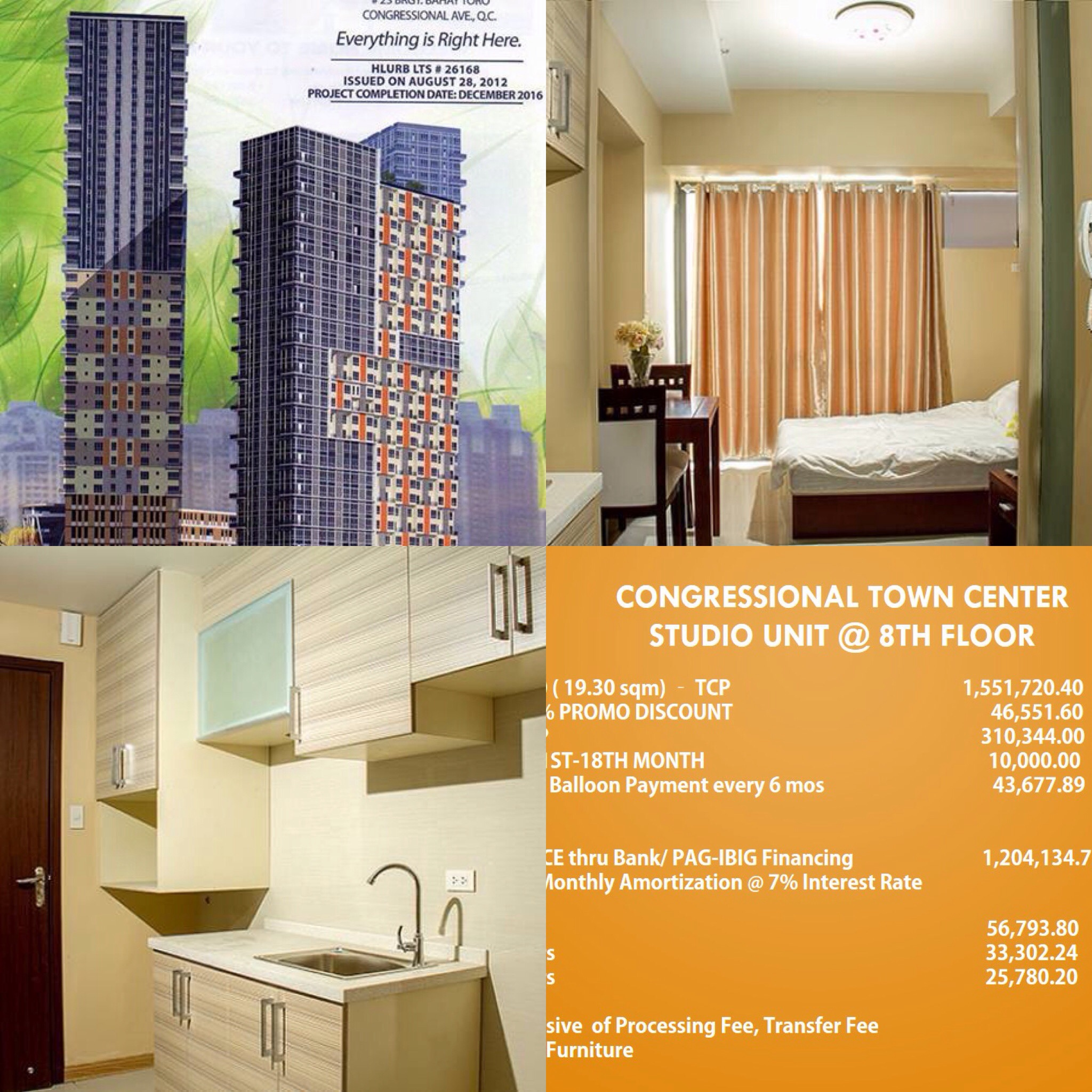 congressional ave qc condo for sale 2br 09176747343 rico navarro