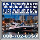 Slips are now available!! On the brand new Dock 5. For information please call (727) 893-7329 or 800 782 8350