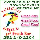 Toucan Grill and Fresh Bar in Oriental, NC