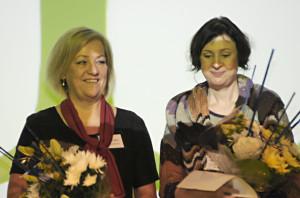 Mari-Cristin Malm och Ida Lyckestam-Thelin.
