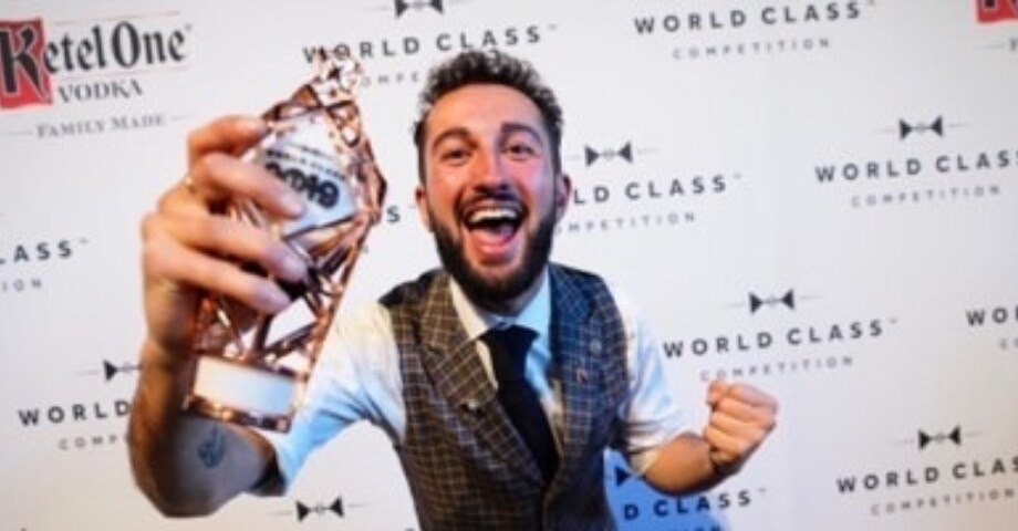 James Chaib. The Best Bartender of The Netherlands. Winner of World Class Competition