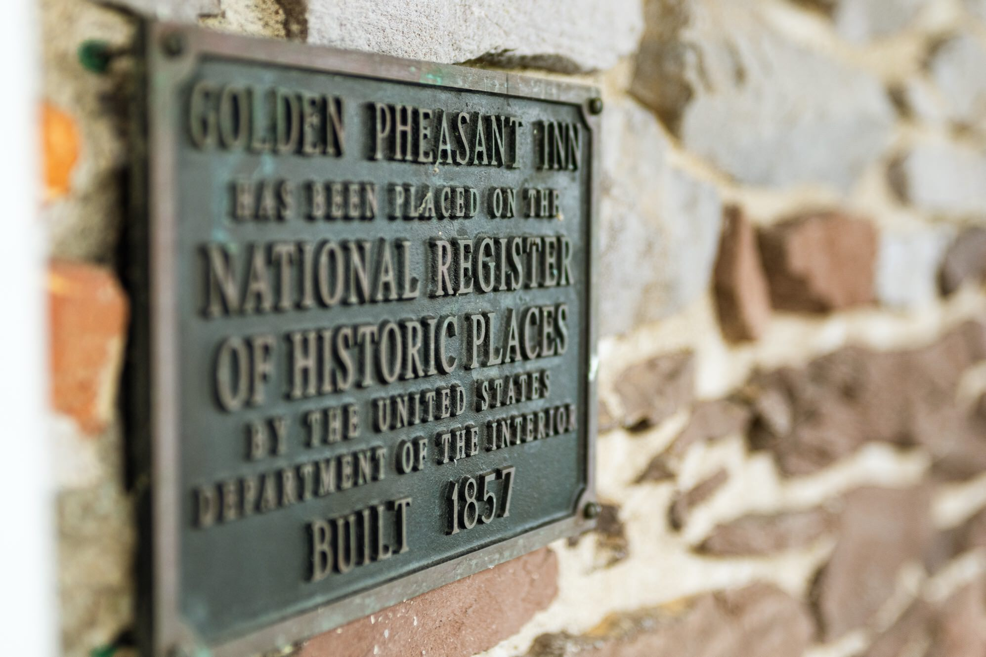 Golden pheasant national registry historic places