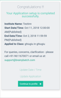 New Institute Guideline