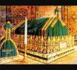 Sejarah Kubah Hijau yang membentang di atas Makam Rasulullah