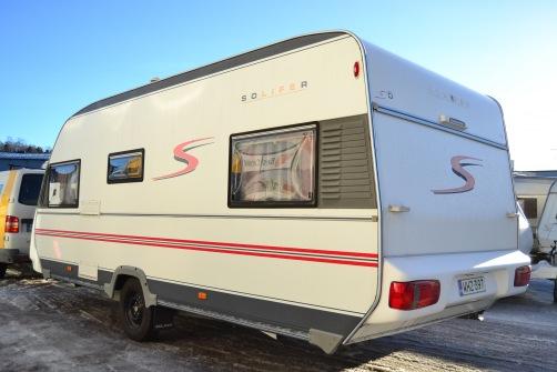 Solifer S 550 Artic, Alde, erillisvuoteet