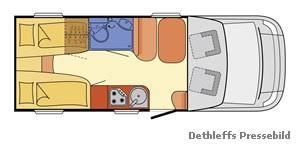 Dethleffs Advantage T 6611 Alde