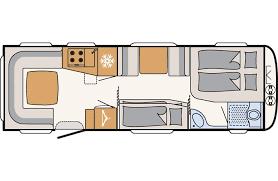 Dethleffs Camper 730 FKR