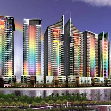 Rainbow Towers