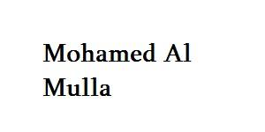 Mohamed Al Mulla