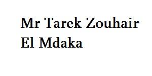 Mr Tarek Zouhair El Mdaka