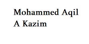 Mohammed Aqil A Kazim