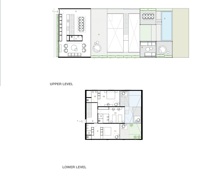 Planning of the apartment 3BR, 2166.24 in Switzerland Island, Dubai
