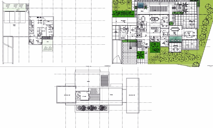 Planning of the apartment Villas 6BR, 16071 in The Reserve, Dubai