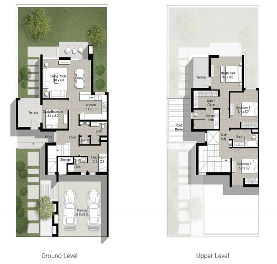 Planning of the apartment Townhouses 4BR, 2471 in Maple at Dubai Hills Estate, Dubai