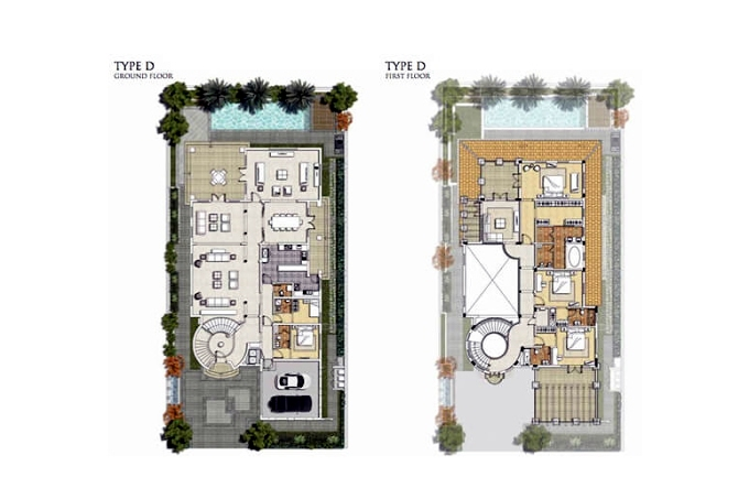 Planning of the apartment Villas, 7534.74 in Royal Golf Boutique Villas, Dubai