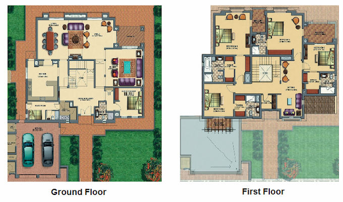 Planning of the apartment Villas, 5180 in Victory Heights, Dubai