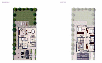 Planning of the apartment Villas, 2368 in Al Zahia, Sharjah